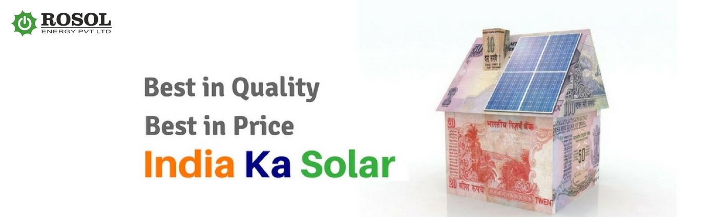 Solar for Residential by India k solar : Rosol Energy Pvt Ltd